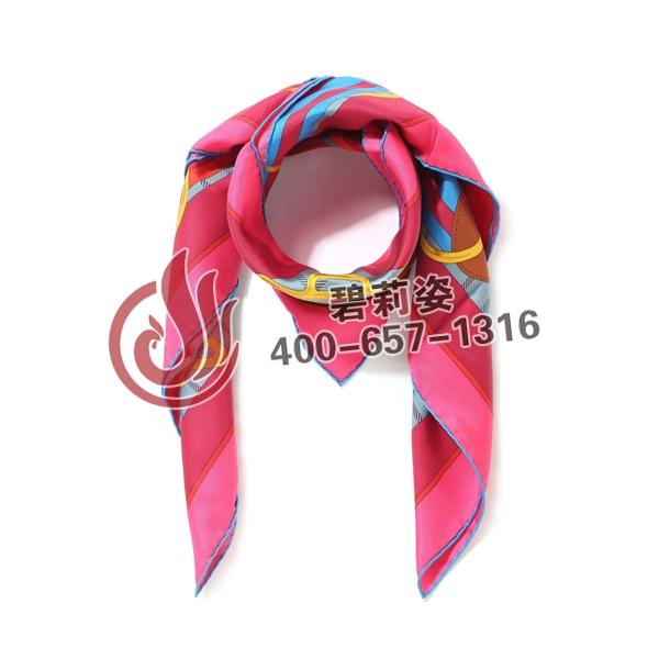 定制职业丝巾